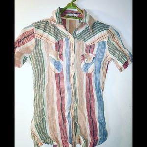 70's vintage Indian cotton shirt